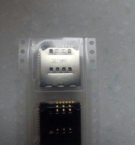 Слот сим, карты памяти Samsung