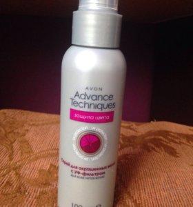 Спрей для окрашенных волос с УФ-фильтром
