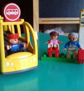 Лего Дупло Автобус.