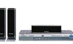 Ресивер DVD и стереосистема 5+1. Elenberg HT-125