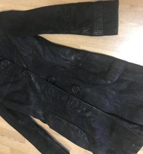 Пальто кожа натуральная!