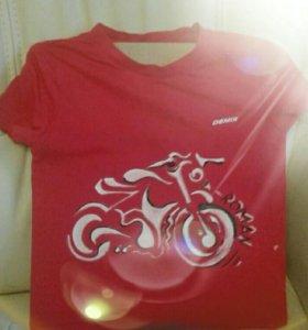 Принт на футболках ручная роспись