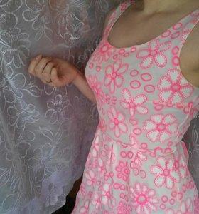 Легкое летнее платье. Идеальное состояние.