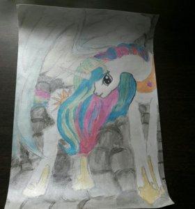 Рисунок начинающего художника