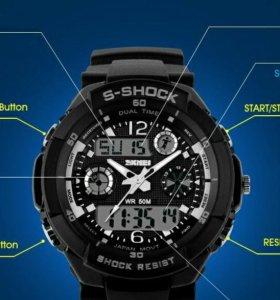 Новые, спортивные часы S-SHOCK