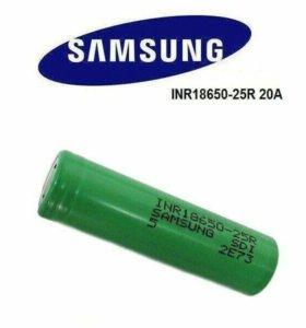 Высокотоковые аккумуляторы Samsung 18650