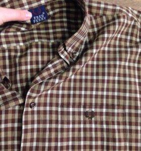 рубашка с коротким рукавом fred perry