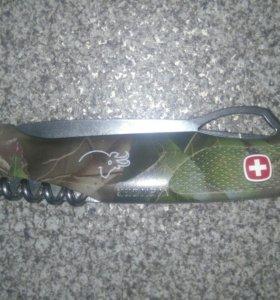 Швейцарский туристический складной нож Wenger