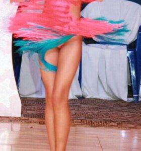 Платье для спортивных бальных танцев!
