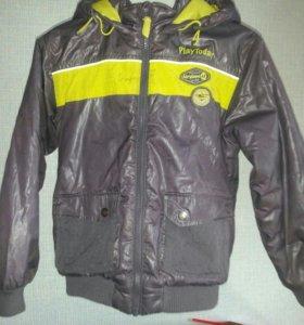 Куртка демисезон.на мальчика8,9,10 лет