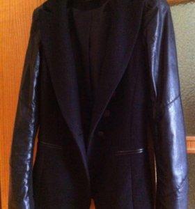Пиджак стильный шерстяной