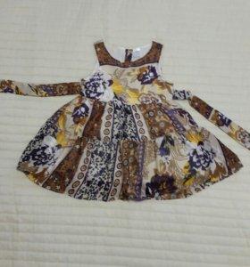 Платье. 86 размер