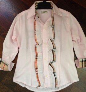 Блузка-рубашка на девочку 4 лет