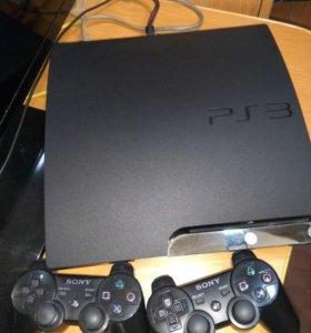Продам Playstation 3 slim 250gb