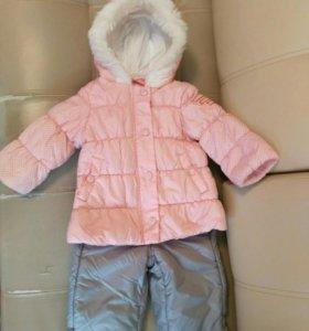 Продам куртку+комбинезон весна-осень,р.74