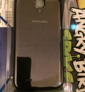 Оригинальная задняя панель на Samsung Galaaxy S 4