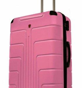 Новый пластиковый чемодан Luyida на 8 колесах