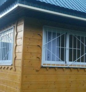 решетка на окна и перегородки