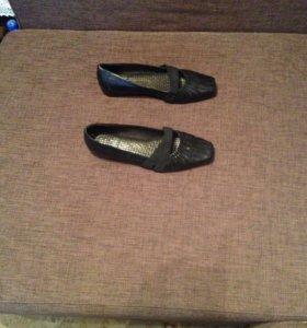 Туфли - балетки натур. кожа 👠
