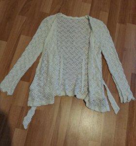 Кружевная кофточка пиджак