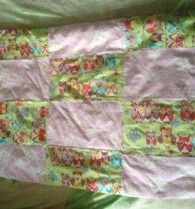 Одеялко в коляску или кроватку