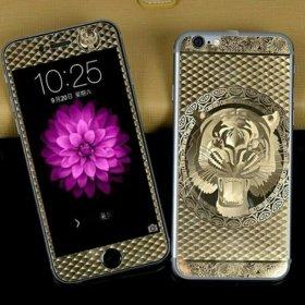 Стекло с тигром на айфон 6,6s