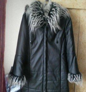 Пальто куртка зимняя