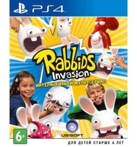 Rabbids invasion для PS4, срочно