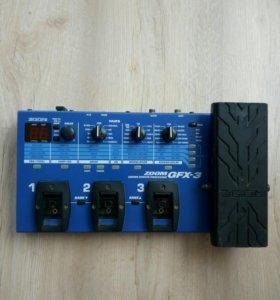 Гитарный процессор zoom gfx-3
