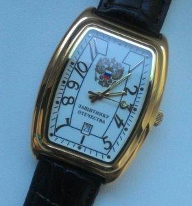 Позолоченые часы с автоподзаводом