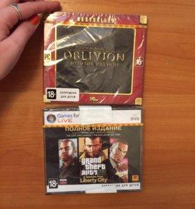 GTA 4 (2 диска), Oblivion