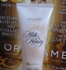 """Крем для рук """"Молоко и мёд"""""""