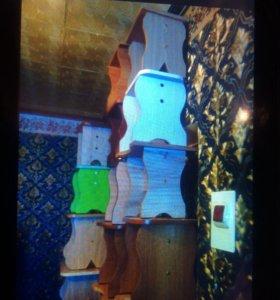 Стулья от 100р до 300руб. Детские столы от 250р