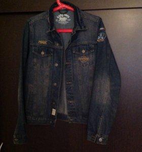 Джинсовая куртка(джинсовка) Hard Rock Cafe Prague