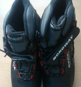 Новые лыжные ботинки 43 р