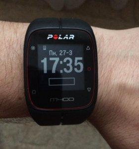 Спортивные часы Polar m400 с кардиодатчиком.