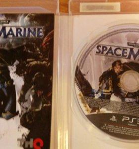 Игра для ps3 space marine . Warhammer 40.000
