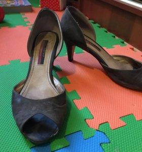 Замшевые туфли Svetski размер 40 Бесплатно