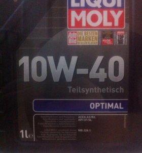 Liqui moly optimal 10w40 5 л по цене 4