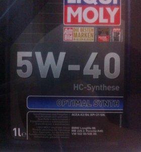 Liqui moly optimal 5w40 5л по цене 4х синтетика