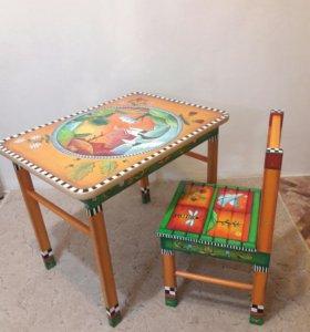Стол детский + стульчик