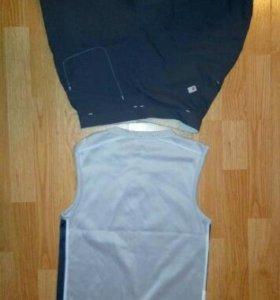 Adidas комплект шорты + футба. форма физкультура