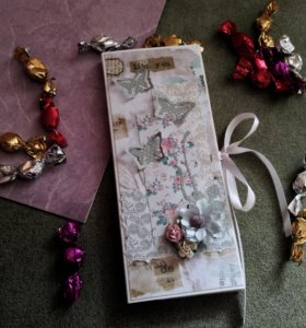 Открытка-шоколадница