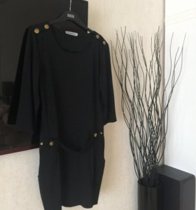 Платье чёрное 44-46 раз