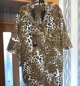 Пальто, рукава 3/4, новое, не подошел размер