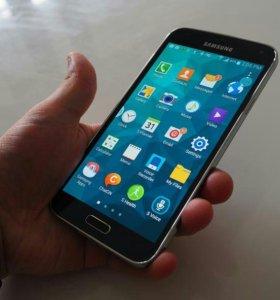 Samsung galaxy S5 + часы samsung gear 2