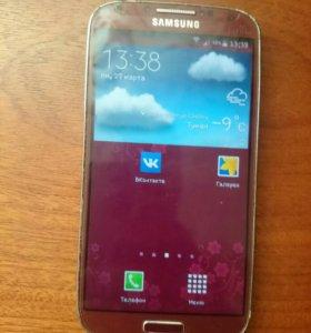 Samsung Galaxy S4 32Gb LaFler+куча чехлов
