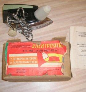Электроутюг с пароувлажнителем УТП 1000-1.8.220