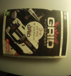 Игра на ПК ; GRID autosport limited black edition