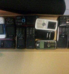 Много телефонов говорилок